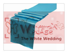 36 piece  sky blue table runners  For Wedding  FREE SHIPPING luxury home decor