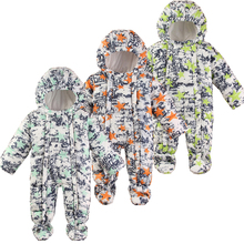 Buy Baby Snowsuit Winter Newborn Baby Rompers Warm Jumpsuit Baby Snow Wear Cotton Thick Romper Kids Outerwear Clothes Infant Costume for $9.99 in AliExpress store