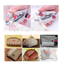 Mini Handheld Needlework Handy Stitch Clothes Fabric Sewing Accessories Tools Sewing Machine Home Convenient Travel Use