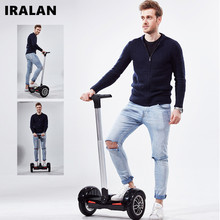 IRLAN A8 10inch Hoverboard Electric Scooter self Balancing scooter Smart two wheel skateboard With Handle LG battery
