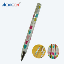 ACMECN Unique Ballpoint Pen Original Design Heat Transfer Pattern Ball Pen Writing Instrument Back to School Students Gifts