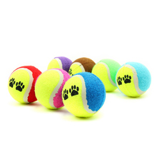 4PC Toy Ball For Small Dogs Supplies Tennis Ball For Pet Dog Chew Toy Pets Puppy Play Toys For Dog Balls Games Pet Products(China)