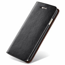 Original Musubo Brand Case For iPhone 4 Luxury Genuine Leather wallet phone bag Cover for Apple iphone 4s flip cases Coque(China)