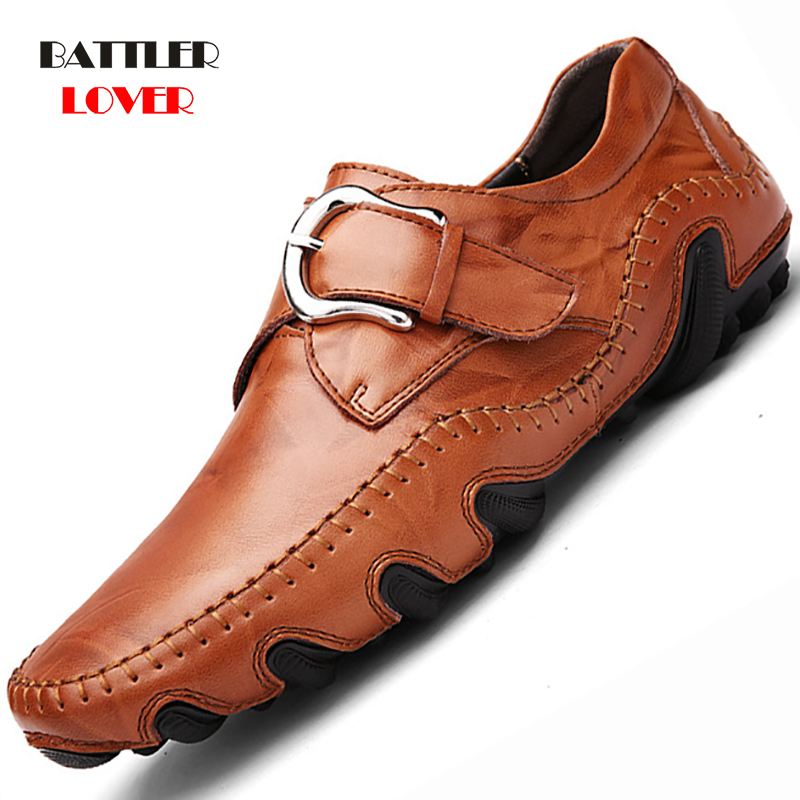 Autumn Men Casual Loafers Office Luxury Brand Comfort Driving Shoes Men