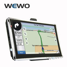 New 7 inch GPS Navigation FM 4GB/128M DDR/800MHZ Map Free Upgrade Russia/Belarus/Spain/ Europe/USA+Canada/Israel navigator(China)