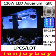 1pcs/lot  Powerful 120w for coral tank 14000k led aquarium light White Perform for Plants, Reef Corals, Fish