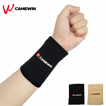 1 Piece High Elasticity Soft Wrist Support Brace Soft Wristband CAMEWIN Brand Lengthened Absorb Sweat Sports Wrist Protect(China)