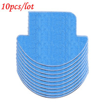 10pcs MOP Cloth ILIFE V7S pro v7s robot vacuum cleaner parts chuwi ilife Cleaning Cleaner Mop cloths replacement accessories