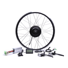 Electric Bike Kit 48v500w Shengyi Dgw22c Rear Cassette Electric Bike Conversion Kit Brushless Hub Motors 20'' 26'' 28''(China)