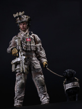 1/6 US Navy SEAL Team Six DEVGRU Halo Action Figure With DOG Colletible Model Toys(China)