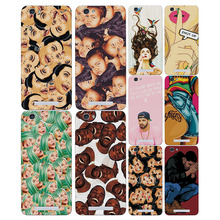 "Colorful Painted Cartoon Grid Phone Cases Covers ZTE Blade A610 5.0"" Soft Silicon Fundas Capa ZTE A610 Case free gift"