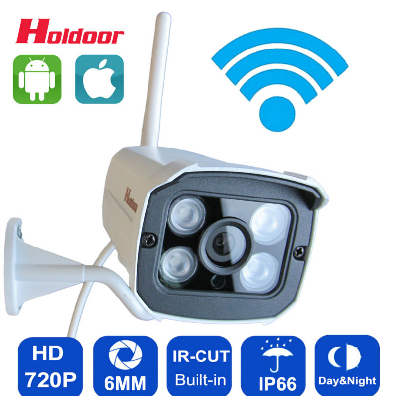 Wifi Ip Camera 720p HD Support Micro SD Card Waterproof  CCTV Security Wireless Mini Camara P2P Outdoor Infrared IR Network CAM<br><br>Aliexpress