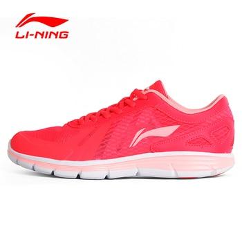 Li-Ning Femmes Légères chaussures de Course des Chaussures Mesh Respirant Rembourrage DMX Chaussures Sneakers Sport Chaussures ARBL094 XYP430