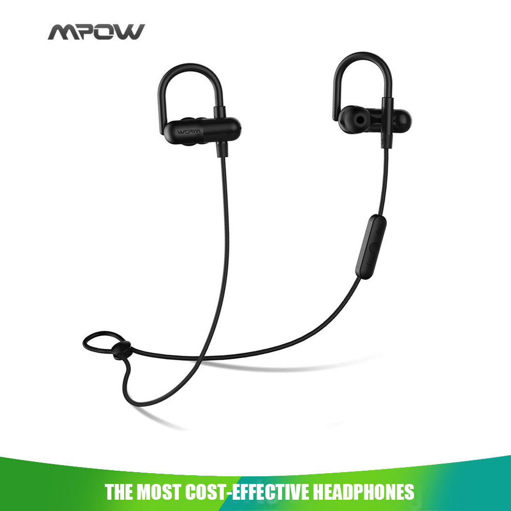 Original MPOW QY11 Headphones earphone Aptx HiFi 3D stereo Bluetooth 4.1 In-ear CVC 6.0 chip Noise cancelling sports headphone