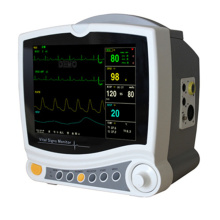 Contec CMS6800 6-Parameters ICU Patient Monitor,  ECG, NIBP, Dual- channel TEMP, PR, SPO2, RESP, Medical Monitoring Device