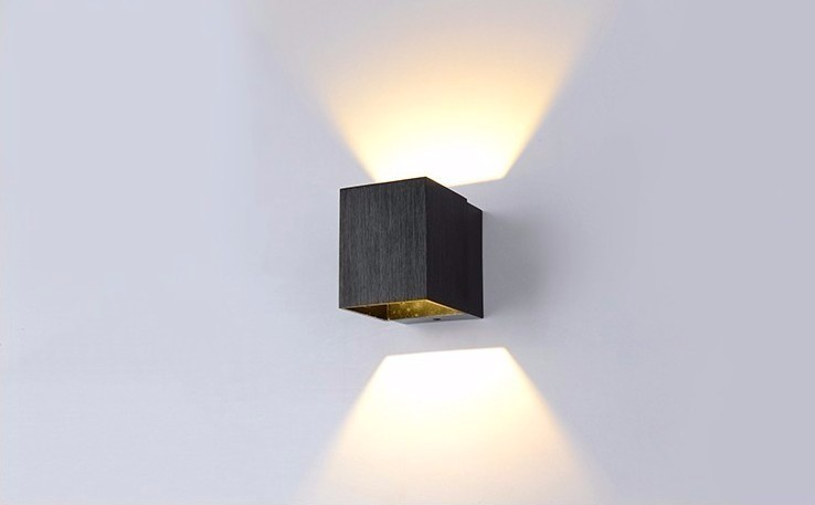 2019 modern sconce wall light 3w led wall lamps bedroom kitchen