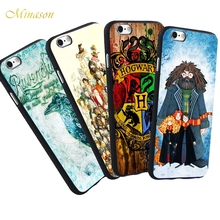 Buy Minason Hogwarts Harry Potter Case iPhone X 5S SE 6 6S 7 8 Plus Cover Quotes Capa Soft Silicone Phone Fundas Capinha Coque for $4.97 in AliExpress store