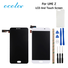 ocolor UMI Z PRO LCD Display+Touch Screen Screen Digitizer Assembly Replacement 5.5inch Mobile Accessories+Tools+silicone Case(China)