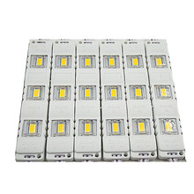 10pcs LED Module Injection 5730 DC12V 3LEDs Waterproof Outdoor light Backlight for billboard white,red,blue,green High lumens(China)