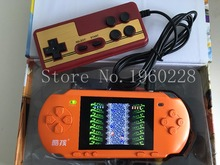 "New 3.2"" Big Color Screen Handheld Game Consolel Portable Video Game Consoles Free 318 Games Player With Gamepad Gift For Kids"