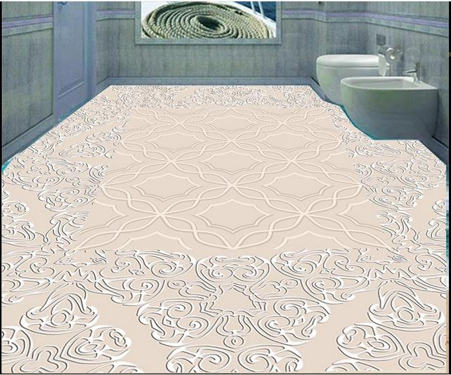 3d wallpaper custom 3d flooring painting wallpaper living room murals European spelling a flower stone 3d floor photo wallpaer<br>