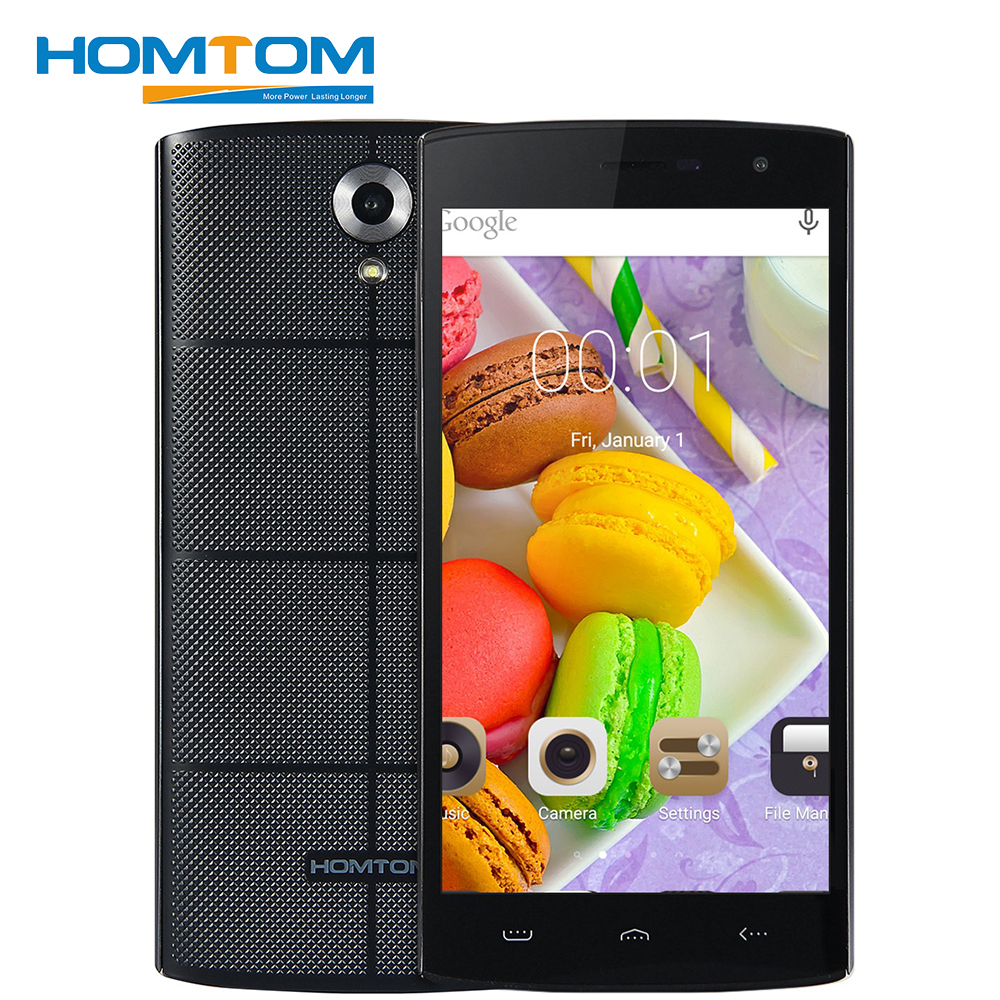 HOMTOM HT7 5.5 inch Smartphone Android 5.1 MTK6580 Quad Core 1GB RAM 8GB ROM Dule SIM Card 5.0MP Wifi GPS WCDMA Mobile Phone(China)