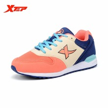 XTEP Brand 2016 Summer Style Women Running Shoes Sneakers Ladies Sports Shoes Wholesale Running Athletic Shoes 984318329892