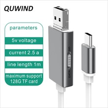 Buy QUWIND 1M 3.3FT Micro USB Type C Multifunction Charging Data Cable Samsung S8 HuaWei P9 P10 HTC Android Phones Tablet Pc for $4.17 in AliExpress store