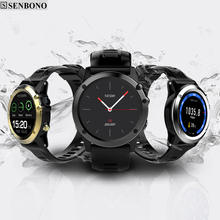 SENBONO H1 bluetooth Sport Smart Watch MTK6572 IP68 Waterproof 1.39inch 400*400 heart rate wifi 3G For Android IOS Smart Phones