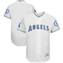 MLB Men's Los Angeles Angels Baseball White Father's Day Flex Base Team Jersey(China)