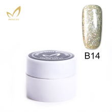 LED UV Gel Nail Polish For Nail Art Lacquer Color Gel Top Quality Summer Decoration Color Painting Gel Polish Pure Glitter(China)
