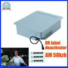 DR label deactivator,eas 58Khz soft label deactivator with detection height 5-10cm ,eas deactivator am eas system(China)