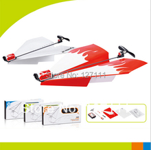 New electric paper airplane electric aircraft  toys children gift school teaching model 1pcs