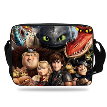 Popular Cartoon School Messenger Bag For Teenagers Boys Girls How To Train Your Dragon School Shoulder Bag For Kids
