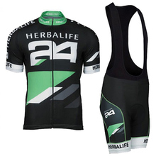 HOT!Classic Black HERBALIFE Cycling Jersey Short Sleeve Summer Maillot Ciclismo Men High Quality Bib Shorts MTB Bike Clothes Set(China)