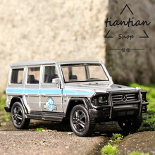 1:32 Benz G55 Alloy Car Model Real Restore Favorites Decoration Children Toys Car(China)