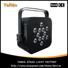 LED Flat Par LED Par Light 12Pcs*10w RGBW 4in1 Par64 Light for Disco & KTV Light & DJ Party