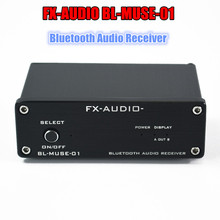 FX-AUDIO BL-MUSE-01 Mini Hi-Fi Lossless Bluetooth Audio Receiver Fiber Coaxial Output Connected Pure Digital Amplifier(China)