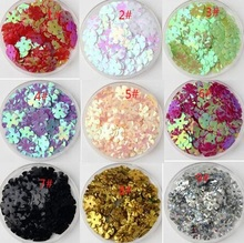 440pcs 10mm hiny flower sequins for crafts clothes bag Garment sequin paillettes spangles IY sewing accessories S085