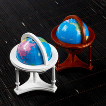 1/12 Dollhouse Miniature Model Tellurion Globe Doll's House Geography Learning Toy Accessory For Study/Schoolroom For Child/kid(China)