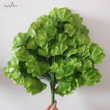 12pcs/lot artificial mini ginkgo trees HIGH QUALITY home hotel office decoration accessory hall ornament