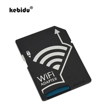 kebidu 1 pcs Wifi SD Card Adapter For MicroSD TF Converter for SONY Canon Nikon Cameras Photos Wirelessly to Phone Tablets(China)