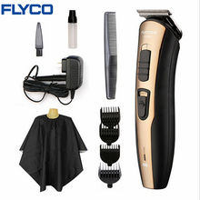 FLYCO professional Hair Trimmer Professional Rechargeable Clipper for Men or Baby Stainless Steel Hair Cutting Tools FC5803(China)