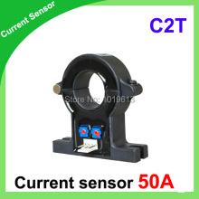 AC DC current sensors C2T series hall current sensor 50A