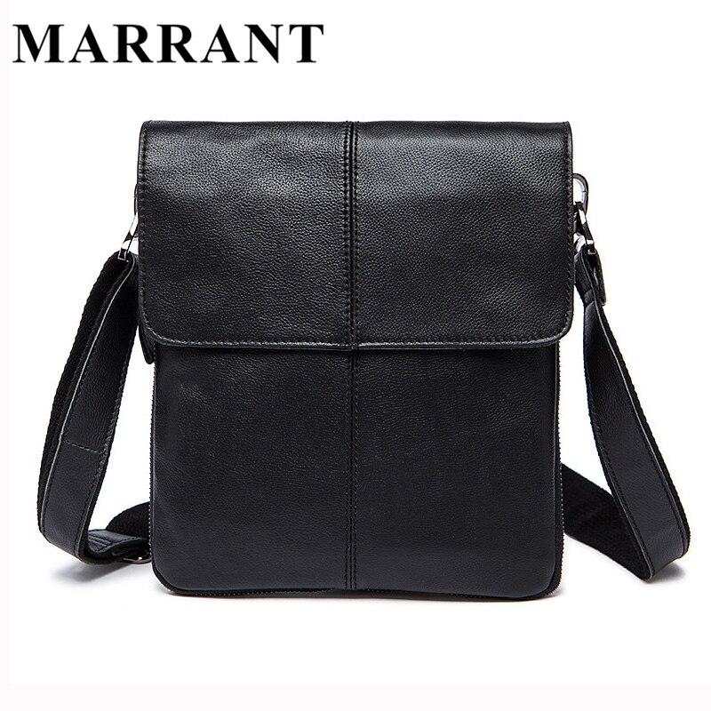 MARRANT Hot Sale Male Bag Genuine Leather Mens Messenger Bags Men Casual Crossbody Shoulder Bags Man Fashion Travel Bag 8006<br>