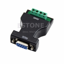 New RS-232 RS232 to RS-485 RS485 Interface Serial Adapter Converter #R179T#Drop Shipping(China)