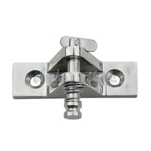 Free Shipping  Stainless Steel Marine Hardware Set Boat Bimini Top Fitting Deck Hinge 90 Degree Quick Pin