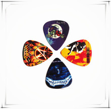 Best guitar picks for beginners and advanced guitarists, best guitar picks for playing rock, blues and acoustic.(China)