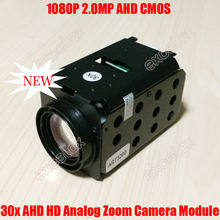 1080P 2MP AHD 30x Optical Sony IMX322 CMOS Zoom Camera Module Auto Focus Coaxial Analog HD CCTV PTZ High Speed Dome Block Camera(China)