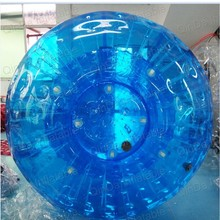 Plastic snow land zorb ball inflatable human sized hamster ball for bowling(China)